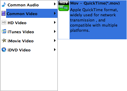 SWF to MOV Converter for Mac Screenshots 4