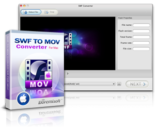 Doremisoft SWF to MOV Converter for Mac
