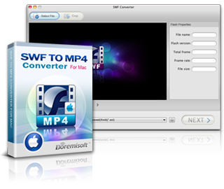 Doremisoft SWF to MP4 Converter for Mac