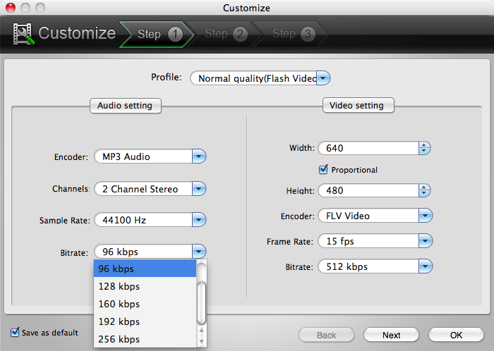 Video to Flash Converter for Mac