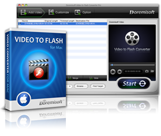 Doremisoft Video to Flash Converter for Mac