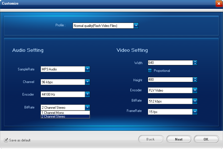 Video to Flash Converter Screenshots 3