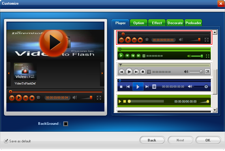 Video to Flash Converter Screenshots 5