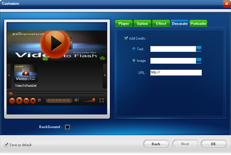 Video to Flash Converter Screenshots 6